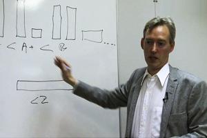 Filosofen som tänker på kommande generationer, ekonomi och politik